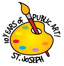 10 Years of Public Art logo